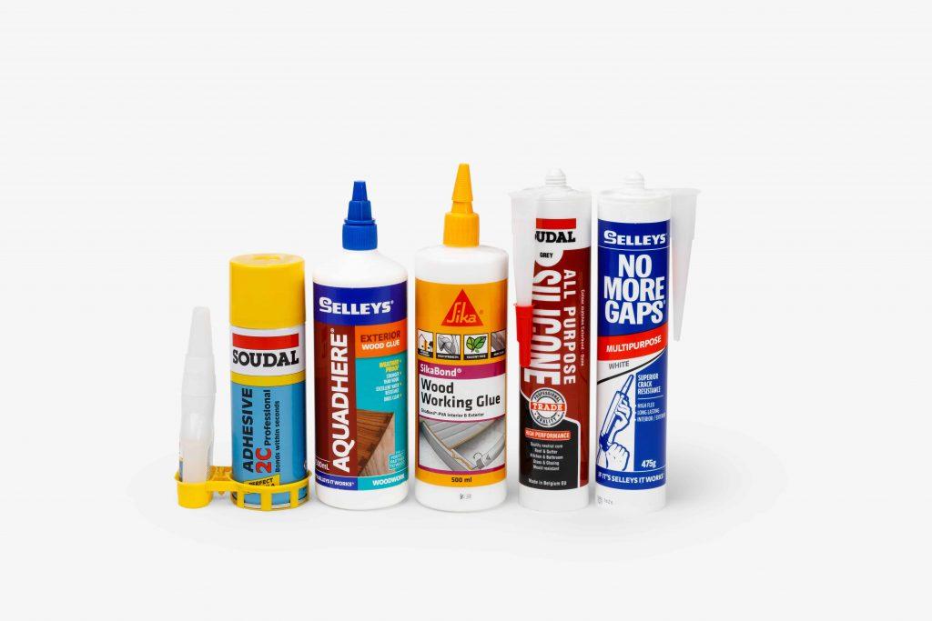 Glues, Sealants & Silicans